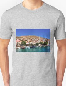 Fishing Boats at the Harbour T-Shirt