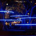 Blue Hoops by pauldwade
