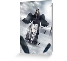 Dark Angel  Greeting Card