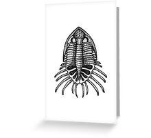 microscopic creature Greeting Card