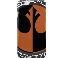 Star Wars Episode VII - Black Squadron (Resistance) - Insignia Series iPhone Case/Skin