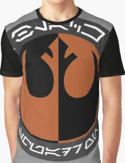 Star Wars Episode VII - Black Squadron (Resistance) - Insignia Series Graphic T-Shirt