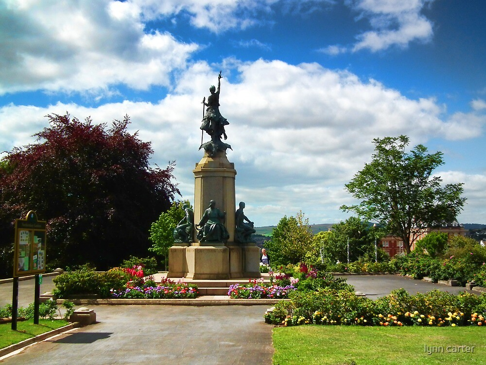 Memorial Statue-World War One, Exeter, Devon UK by lynn carter