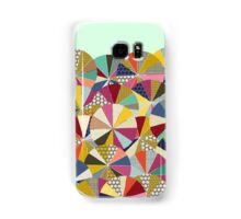 geo brolly mint Samsung Galaxy Case/Skin