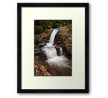 Kaiate upper falls Framed Print