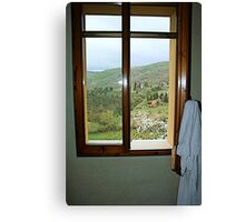 Window on Chianti - Toscana Canvas Print