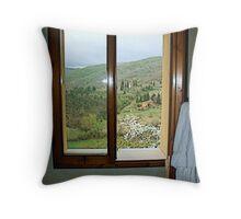 Window on Chianti - Toscana Throw Pillow