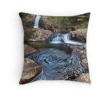 kaiate falls thumb print Throw Pillow