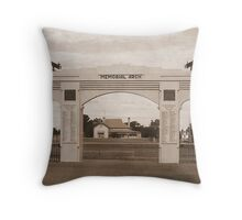 We Shall Remember Them Throw Pillow