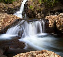 Kaiate middle falls by Ken Wright