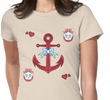 Anchor Cutie Womens Fitted T-Shirt