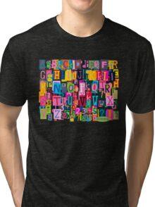 Blockhead Tri-blend T-Shirt