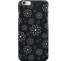 Pattern in flowers of camomile iPhone Case/Skin