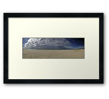 Bilinga Beach Panorama Framed Print