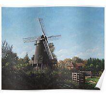 Southampton Bursledon Windmill Poster