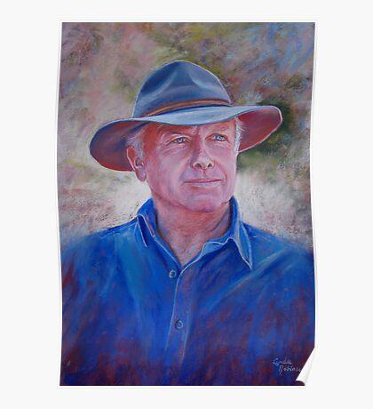 Portrait of Bruce Poster