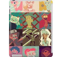 18 Cartoon Protagonists iPad Case/Skin
