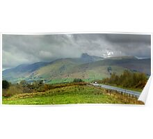 The English Lake District...Northern Approaches Poster