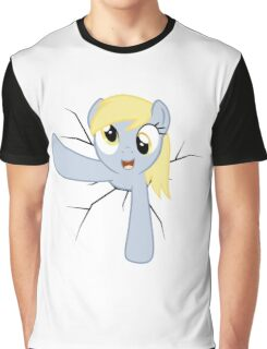 Derpy Hooves stuck in a wall Graphic T-Shirt