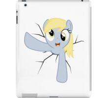 Derpy Hooves stuck in a wall iPad Case/Skin