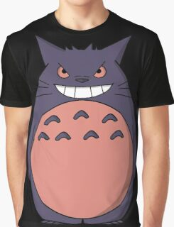 Toto Gengar Graphic T-Shirt