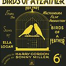 BIRDS OF A FEATHER (vintage illustration) by ART INSPIRED BY MUSIC
