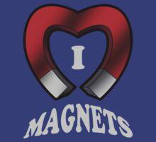 I Love Magnets by robotrobotROBOT