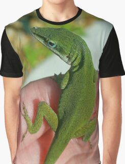 Green Anole Graphic T-Shirt