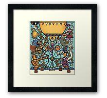 Waterloo Busker Carnival 2015 Framed Print
