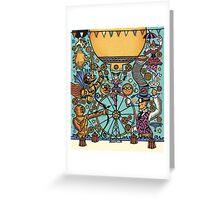 Waterloo Busker Carnival 2015 Greeting Card