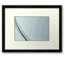 Petroleum Refinery Storage Framed Print