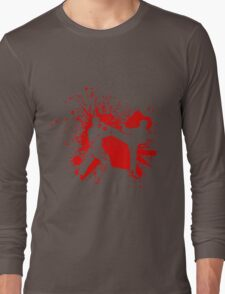The Bloody Duel of Taekwondo fighters Long Sleeve T-Shirt