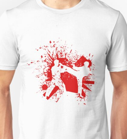 The Bloody Duel of Taekwondo fighters Unisex T-Shirt