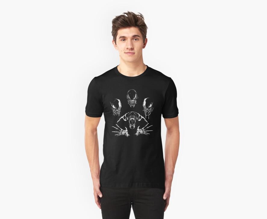 Alien Rhapsody- Aliens Shirt by spacemonkeydr