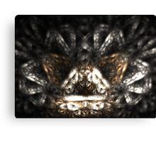 Metallic Chaise Canvas Print