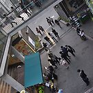 Looking Down on Shoppers (4) by Christian Eccleston