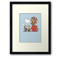 some Peanuts UP there V.2 Framed Print