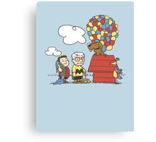 some Peanuts UP there V.2 Canvas Print