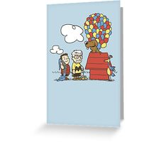some Peanuts UP there V.2 Greeting Card