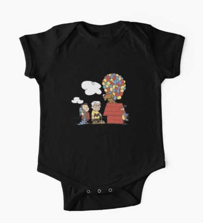 some Peanuts UP there V.2 One Piece - Short Sleeve