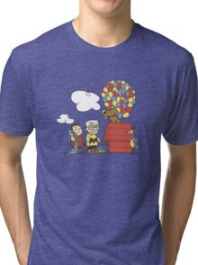 some Peanuts UP there V.2 Tri-blend T-Shirt