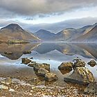 Wastwater..Rocks and Reflections by Jamie  Green