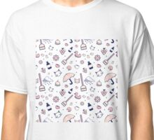 Mad Libs Rainy Day Cat Cafe Classic T-Shirt