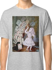 Alice In Wonderland/The Pack of Cards Classic T-Shirt