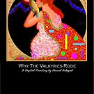 'Why the Valkyries Rode', Titled Greeting Card or Small Print by luvapples downunder/ Norval Arbogast