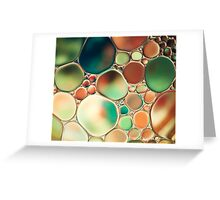 PASTEL ABSTRACTION Greeting Card