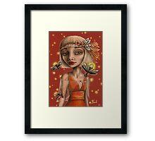 Venus and Fireflies Framed Print