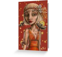 Venus and Fireflies Greeting Card