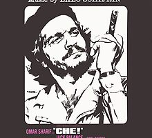 CHE (vintage illustration) by ART INSPIRED BY MUSIC