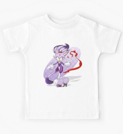 Precious Purple Pyro Princess Kids Tee